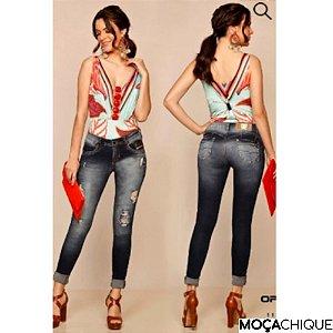 Calça Jeans Oppnus Skinny Levanta Bumbum - 38