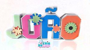 Letras 3D Personalizadas - Cada Letra