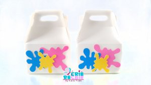 Caixa Mini Maleta Personalizada - 06 Peças