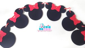 Tema Minnie - Decor Scrap Box P