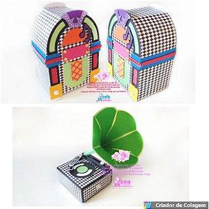 Kit Decorativo Anos 50 - 02 Peças