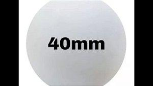 Bola de isopor 40 mm c/40 unds.