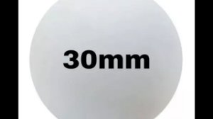BOLA ISOPOR 30mm