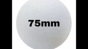 BOLA ISOPOR 75mm