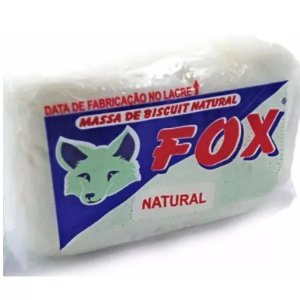 Massa Fox Natural 900gr