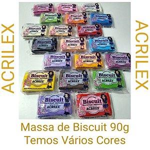 Massa De Biscuit Colorida 90g
