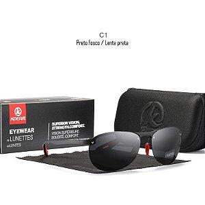 Óculos de Sol Unissex KDEAM KD980 Polarizado Uv400