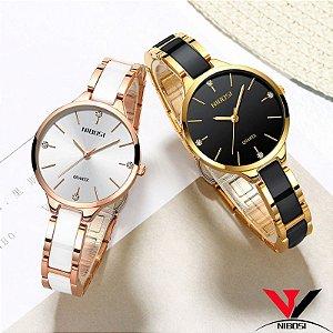Relógio Feminino Nibosi NI2330 Luxo