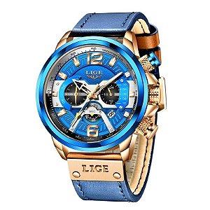 Relógio Masculino Esporte Polo Blue 2021