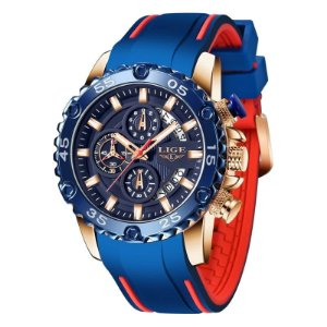 Relógio LiGE 10027 Masculino 2021