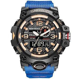 Relógio Militar Ultra-Choque Smael 8035