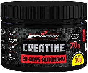 Creatina Powder 70g 20 Day Authonomy  Bodyaction