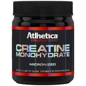 Creatina Monoidratada Micronizada 120g Atlhetica *validade 14/06/2018