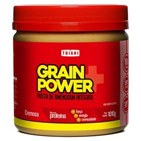 Pasta de Amendoim Integral Grain Power (1010g) - Thiani Alimentos