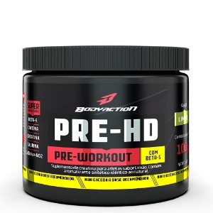 PRE-HD PRE-WORKOUT 100G BODYACTION