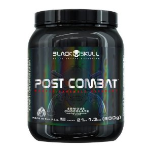 Post Combat BOPE Black Skull 600g