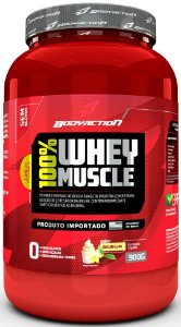 100% WHEY MUSCLE  BODYACTION 900g