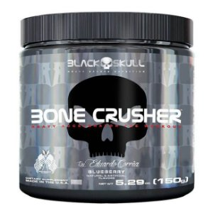Bone Crusher Black Skull 150g