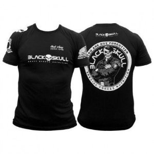 Camiseta Dry Fit Soldado BOPE Blak Skull
