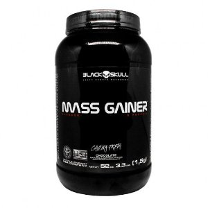 MASS GAINER 1.5KG BLACK SKULL