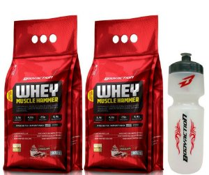 Combo Whey Muscle Hammer Bodyaction