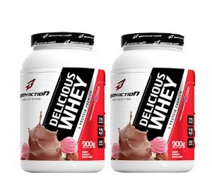 Combo 2x Delicius Whey Bodyaction 900g