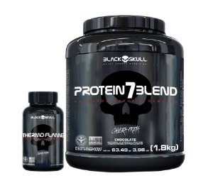 Combo Protein7 1.8Kg + Thermo Flame Black Skull