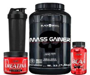Combo Massa Muscular Gainer 1,5Kg