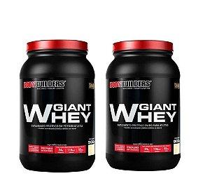Combo Duplo Giant Whey Bodybuilders