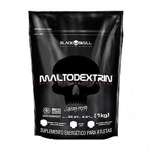 Maltodextrina Caveira Preta 1kg Black Skull