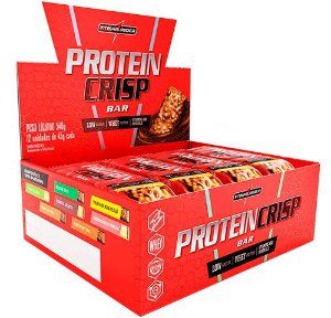 Protein Crisp Bar 12 unid-45g IntegralMédica