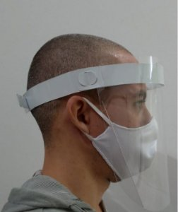 FACE SHIELD - ESCUDO FACIAL ADULTO