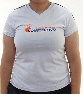 BABY LOOK CONSTRUTIVO BRANCO