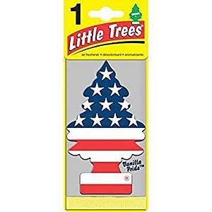 Little Trees Vanilla Pride Baunilha Bandeira Americana