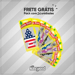 Aromatizante Little Trees Kit c/24 unidades + Frete Grátis