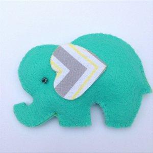 Elefantinho - Kit 10 Lembracinhas Feltro
