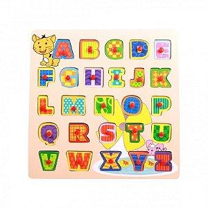 Encaixe e Brinque Letras Dican