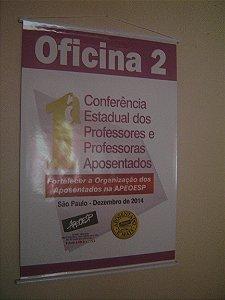 Banner ou faixa em lona com impressão fotográfica