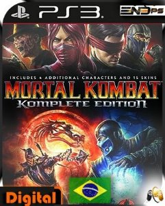 Mortal Kombat 9 Komplete - Ps3