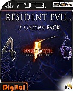 Resident Evil Pack - 4 -5 - 6 - Ps3