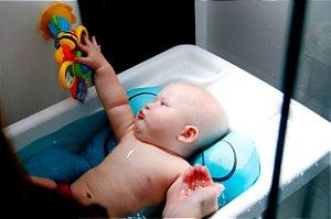 Almofada Banho Bebê