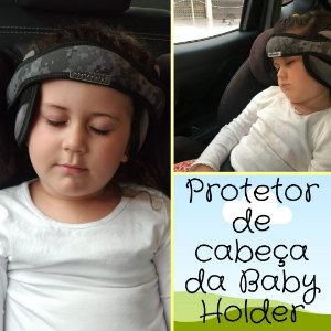 Apoio  protetor de cabeça  - cadeirinha no automóvel