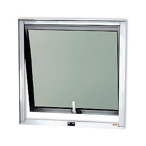 Maxim-Ar 1 Seção em Alumínio Brilhante c/ Vidro Mini Boreal - Brimak Confort