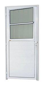 Porta Lambril Social C/ Grade em Alumínio Branco C/ Vdr. Mini Boreal - Brimak Super 25