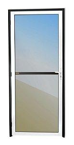 Porta Vidrão em Alumínio Mix Preto c/ Vidro Mini Boreal - Brimak Super 25