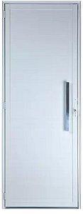 Porta Lambril Sem Vidro C/Puxador 60 cm Alumínio Branco - SPJ Premium