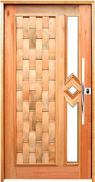 Porta Pivotante Couro p/ Vidro Mista Montada no Batente de 14 cm Misto - Rick Esquadrias