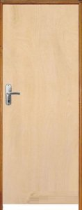 Porta Lisa Mista Comercial c/ Batente de 11 cm Misto c/ Fechadura Taco de Golf  - Rick Esquadrias