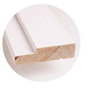 Batente Ecologico Com Primer 7,5 cm - UNIPORTAS