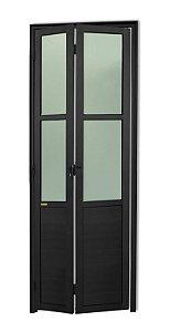 Porta Camarão em Alumínio Preto c/ Vidro Mini Boreal - Brimak L25